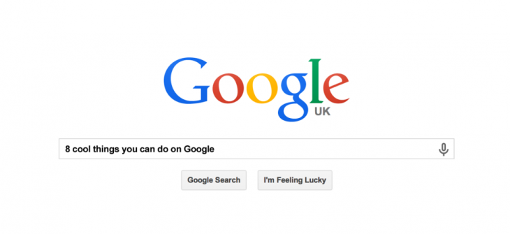 8 cool things you can do on Google