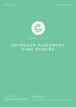 Outreach Placement Case Study Docuement