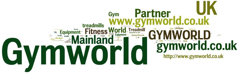 Gym World anchor text